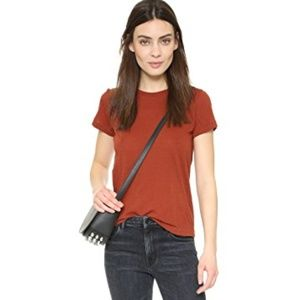 HELMUT LANG Kick Front Tee Rust {W6}